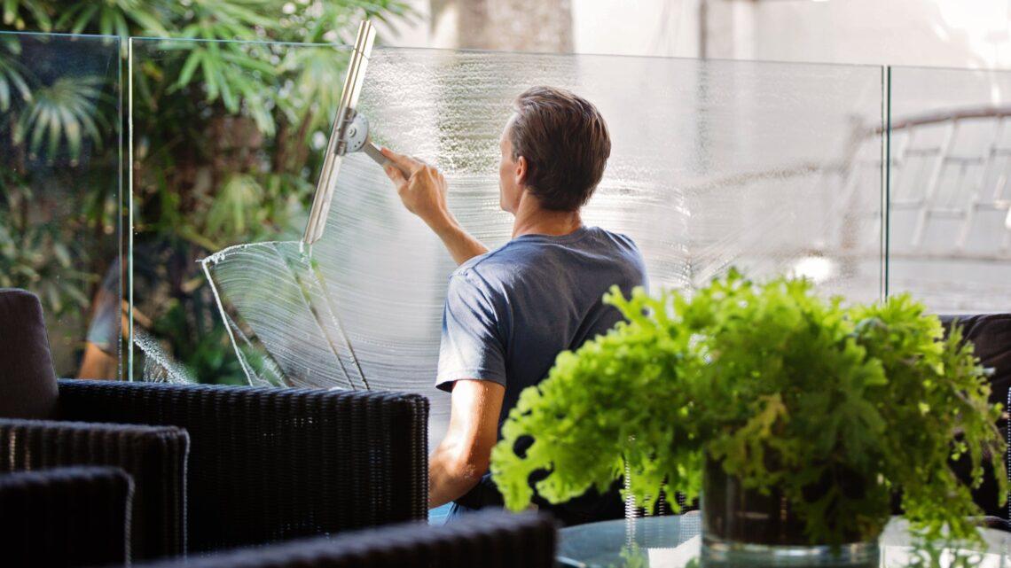 Derfor skal du bruge en grøn vinduespudser